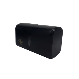 Dispenser Toalha Interfolha Compacto - Preto