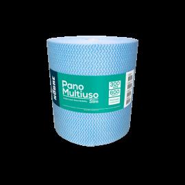 Pano Mulitiuso Slim Azul 300m x 28cm - 600 Panos