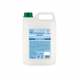 CÓD. 10316 Álcool em Gel 70% Antisséptico - 5 Litros