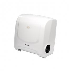 CÓD. 6824 - Dispenser para Toalha Bobina - Branco/Auto Corte