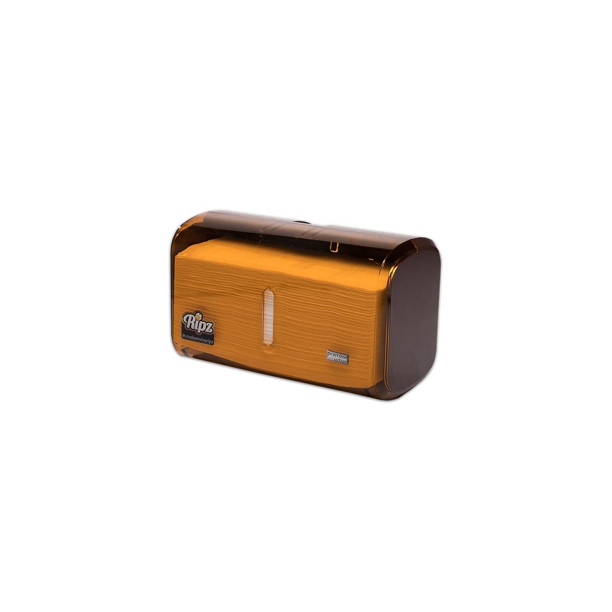 CÓD. 19823 - Dispenser Toalha Interfolha Compacto - MARRON