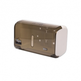 CÓD. 19833 - Dispenser Toalha Interfolha Compacto - GLASS FUME