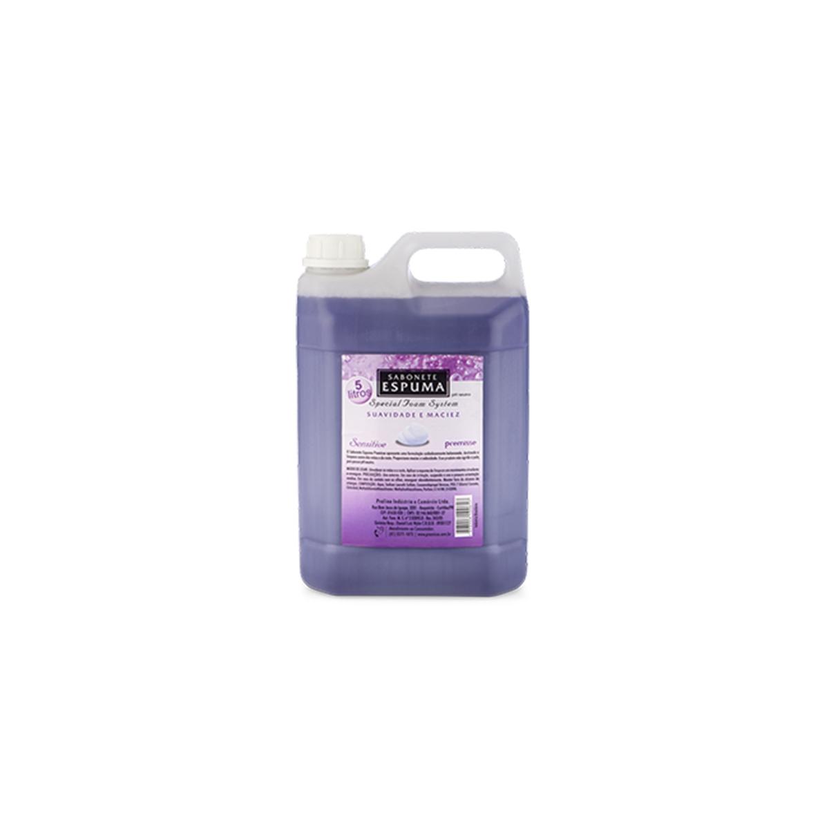 CÓD. 10210 - Sabonete em Espuma Sensitive - 5 LTS