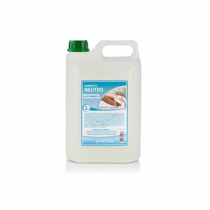 CÓD. 10313 - Sabonete Neutro Glicerinado - 5 Litros